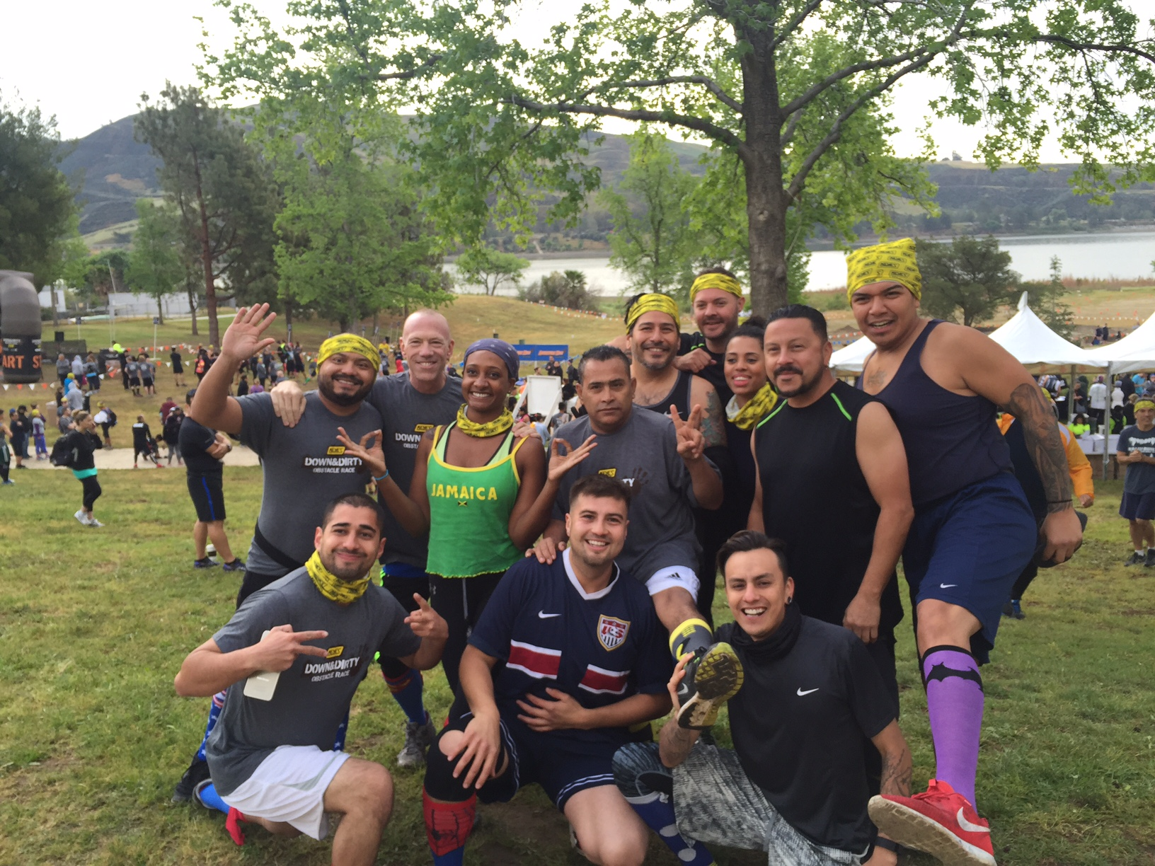 AOO Events Team Building at the Down and Dirty Mud Run