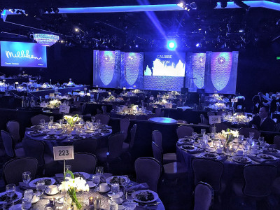 An Awards Dinner Designed to Perfection